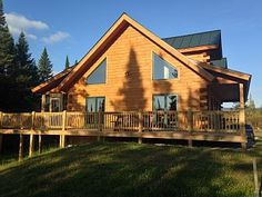 Bretton Woods Log HomeVacation Rental in Twin Mountain from @homeaway! #vacation #rental #travel #homeaway