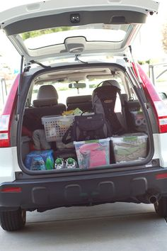 all things simple: road trip 2012 | packing tips + busy bags