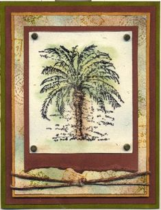 Balmy Breezes Stampin' Up card
