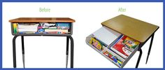 The NeatNook School Desk Organizer is a revolutionary tool that allows students in grades 1st through 5th to get rid of that Mess in the Desk!