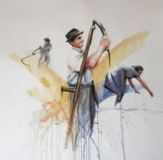 largest piece yet 110x100 watercolor Watercolor Paintings, Art, Watercolor, Art Background, Water Colors, Kunst, Performing Arts, Watercolour Paintings, Art Education Resources