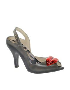 Vivienne Westwood for Melissa Lady Dragon Lips Heeled Sandals