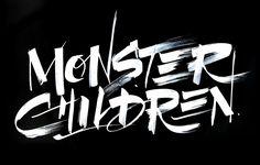 Monster Children brush lettering on The Loop