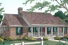 Country Exterior - Front Elevation Plan #406-252 - Houseplans.com