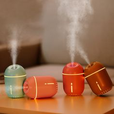 Lights & Lighting Hot Incense Usb Humidifier Air Purifier Recharge Touch Of 7 Colors Lights