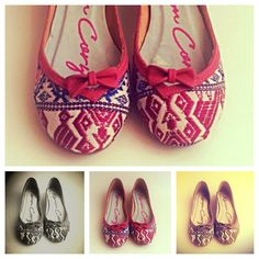 Flats #flats flats!! In stock size: 4 and 5  color: #pink price: $80.60 not including taxes and shipping costs.