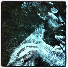 Rosemary's Baby on lace looks so amazing! #fashion #textiles