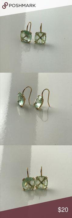 Stella & Dot blue crystal drop earrings Stella & Dot blue crystal drop earrings Stella & Dot Jewelry Earrings