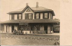 Maryland and Pennsylvania Railroad Bel Air Station