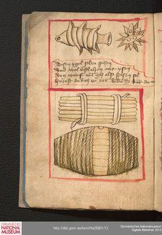 Feuerwerkbuch 1420-25 Hs 25801  Folio 4v