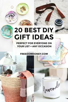 These Creative and Affordable are so easy to make even if you are not crafty! Give everyone on your list these Gorgeous DIY Gifts they will love! 25 Easy and Inexpensive DIY Gifts They Will Actually Love - Freedom Honey Cheap Gifts, Diy Gifts, Best Gifts, Christmas Food Gifts, Christmas Diy, Gifts For Him, Gifts For Women, Hunting Birthday, Emergency Survival Kit