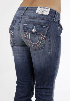 TRUE RELIGION Womens Cameron on the Road BOYFRIEND Jeans, ZGM ...