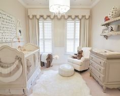 Example of a mid-sized transitional gender-neutral nursery design in Orlando with beige walls and carpet and To my sweet darling wall art