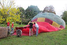 » Blog Archive Singular paseo en un globo de aire caliente | …