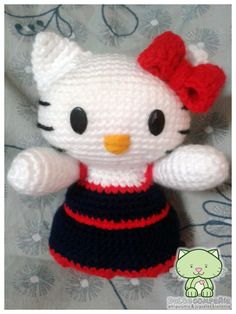 Hello Kitty #amigurumi