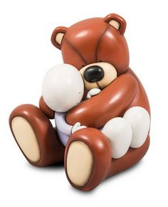 Newest Sculpture by Doug Hyde currently available at Trent Galleries, In Your Arms, A cold cast porcelain sculpture priced £325
