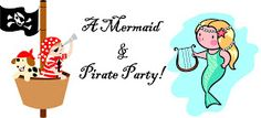 distressed paper, antique paper, mermaids and pirates, treasure hunt clues, pirates and mermaids Jello Aquarium, Treasure Hunt Clues, Pirate Day, Birthday Parties, 5th Birthday, Birthday Cakes, Pirates, Mermaids, Clever