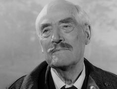 Victor Sjöstrom in Wild Strawberries.    With regard to the extremely moving final shot, which is possibly one of the most beautiful and remarkable moments I've ever captured on film in my entire career, it has a bizarre background. And it might be interesting to mention it, since Victor was such a punctual person. He was always ready to start working at 9:00 sharp. He knew his lines, and he had all his props and costumes in order. So he was very meticulous. But he also liked to be home by 5