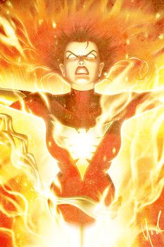 Jean Grey As Dark Phoenix