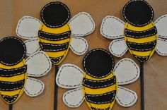 Felt Bumble Bee PDF DIY Pattern. $3.00, via Etsy.