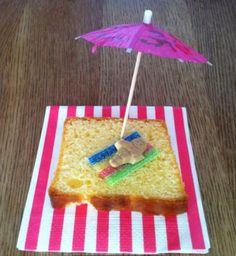 Kindertraktatie met cake. Makkelijke kindertraktaties voor school!