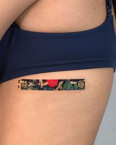 Elegant Rectangle Tattoo Designs Reveal a Sliver of Colorful Scenes Mini Tattoos, Body Art Tattoos, Small Tattoos, Tatoos, Future Tattoos, Tattoos For Guys, Tattoos For Women, Creative Tattoos, Unique Tattoos