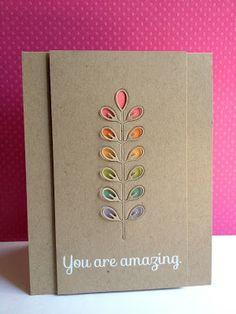 Leaf Column Cards