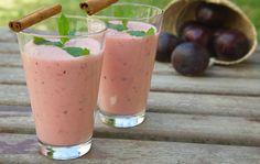 Pruimen Meloen smoothie - ontbijt smoothie
