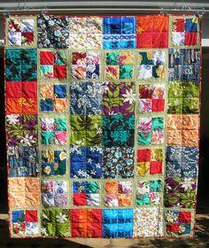 Hawaiian fabrics quilt for me!