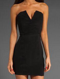 black naven dress