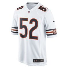 2e89bf93b NFL Chicago Bears Game Jersey (Khalil Mack) Men s Football Jersey Size L  (White)