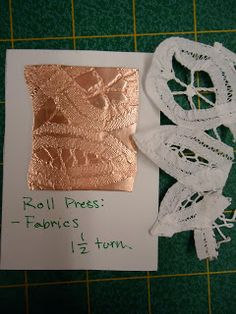 Operation Denpong: Solder Inlay, Roll Press Texture and Fold Forming - Incisione con la saldatura, texture impressa con il laminatoio e Fold forming