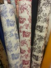 toile fabric per metre