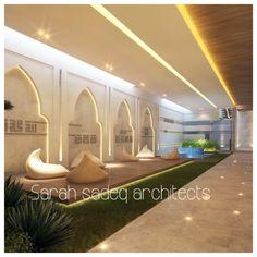 Mall Design, House Design, Cove Lighting, Arabic Design, Moroccan Interiors, Amazing Spaces, Pool Designs, Future House, Morocco