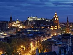 Edinburgh, Scotland  Been there once already, but need another trip to see it all, wouldn't mind living there one day.