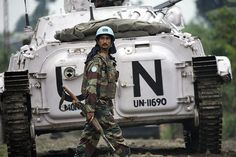 MONUC Peacekeeper Deploys to Combat Zone by United Nations Photo, via Flickr