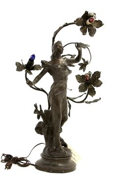 bookshopcafe:Art nouveau sculpture by Julien Caussé