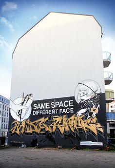 Spacewall // Dresden // may.liz and slider.bandits