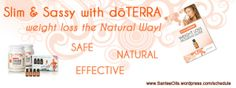 Summer Slim Down: weight loss the Natural Way with doTERRA