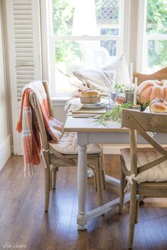 "au-chalet: "" (via Fall Tablescape 