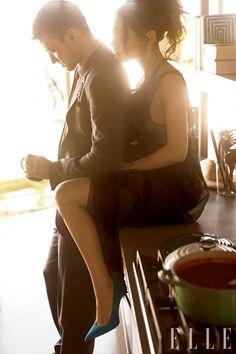 Justin Timberlake and Mila Kunis -  ELLE
