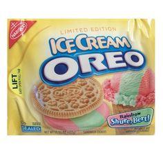 Oreo Ice Cream Rainbow