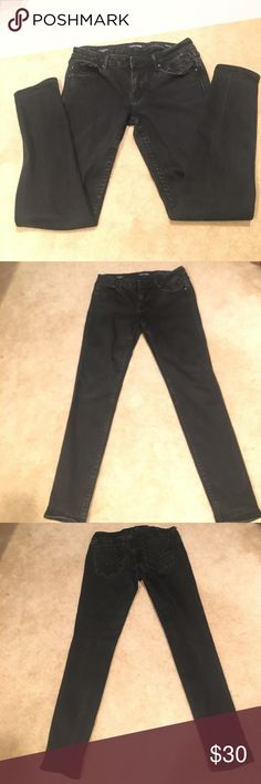 28w28.5 length Black Vigoss Chelsea Skinny Jeans Used, black, altered to a 28.5 inseam but not detectable as with some denim alterations. Vigoss Pants Skinny