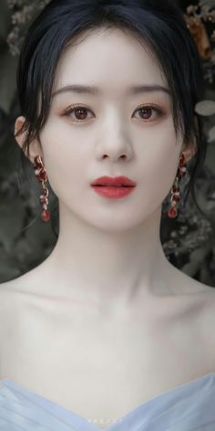 Girls In Love, Cute Girls, Zhao Li Ying, White Cherry Blossom, Beautiful Chinese Girl, Blackpink Fashion, Chinese Actress, Asian Actors, Art Girl