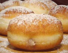 Берлинеры Baking Recipes, Cake Recipes, Snack Recipes, Dessert Recipes, Snacks, Plum Cake, Russian Recipes, Churros, Bread Baking