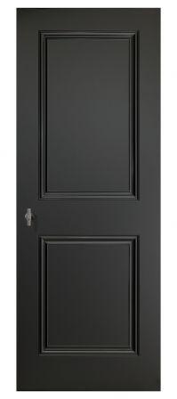 Bod'or - Deur: New York Uptown - By Piet Boon Front Hallway, Joinery Details, Classic Doors, House Doors, Black Doors, Internal Doors, Entrance Doors, Interior Exterior, Door Design