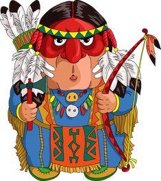 "Photo from album ""Национальности"" on Yandex. Girl Cartoon, Cute Cartoon, Cartoon Art, Illustration Photo, People Illustration, Girl Illustrations, Christmas Paintings, Christmas Art, Wild West Party"