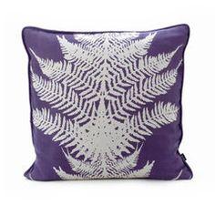 ferm living fern pillow, via Fawn & Forest