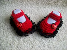 Ravelry: Lacy baby booties pattern by Prisca handcrafts