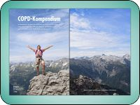 NEW: COPD Compendium  25.03.2014 COPD compendium of the Academy of Health, Sport and prevention.  With new therapeutic approaches for a better quality of life!   A compendium that offers new perspectives and approaches for chronic lung diseases as well as COPD: new types of diagnostics and therapeutic approaches. With realistic goals to a greater well-being and a better quality of life.  http://en.airnergy.com/news/top-news/news-details/article/new-copd-compendium/index.html